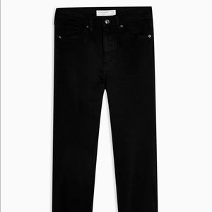 TOPSHOP Black Jamie Skinny Jeans W28 L32 - US 6